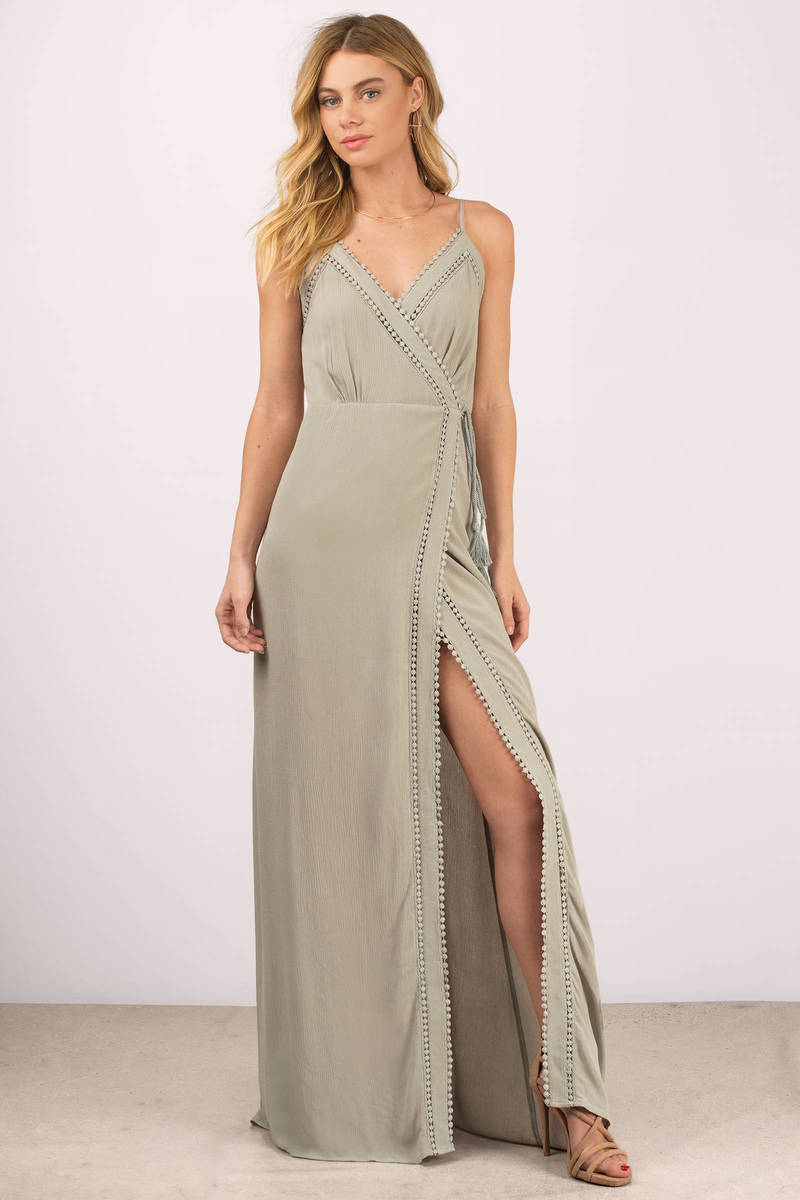 Mykonos Terracotta Maxi Dress