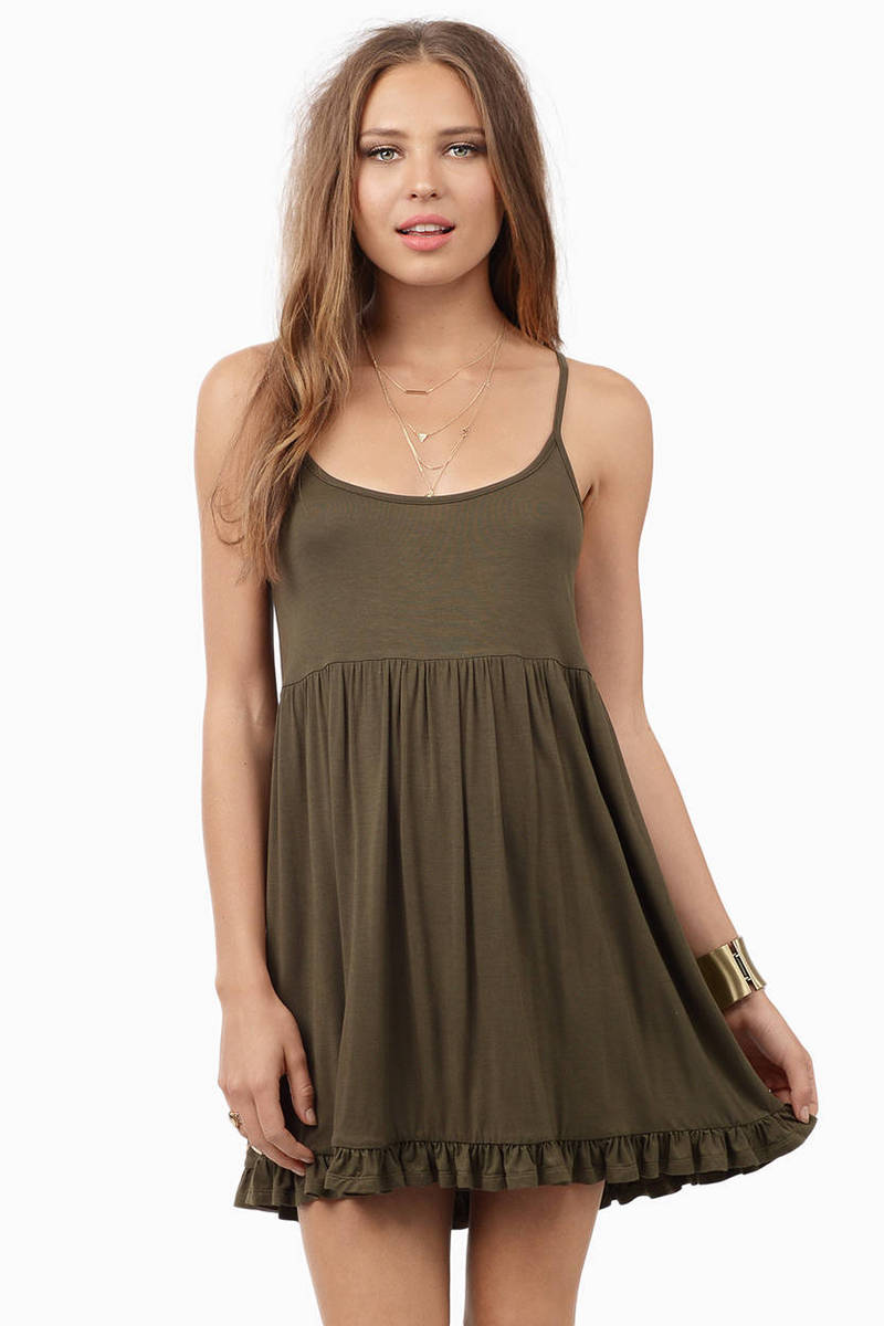 Green Not Just Another Basic Dress
