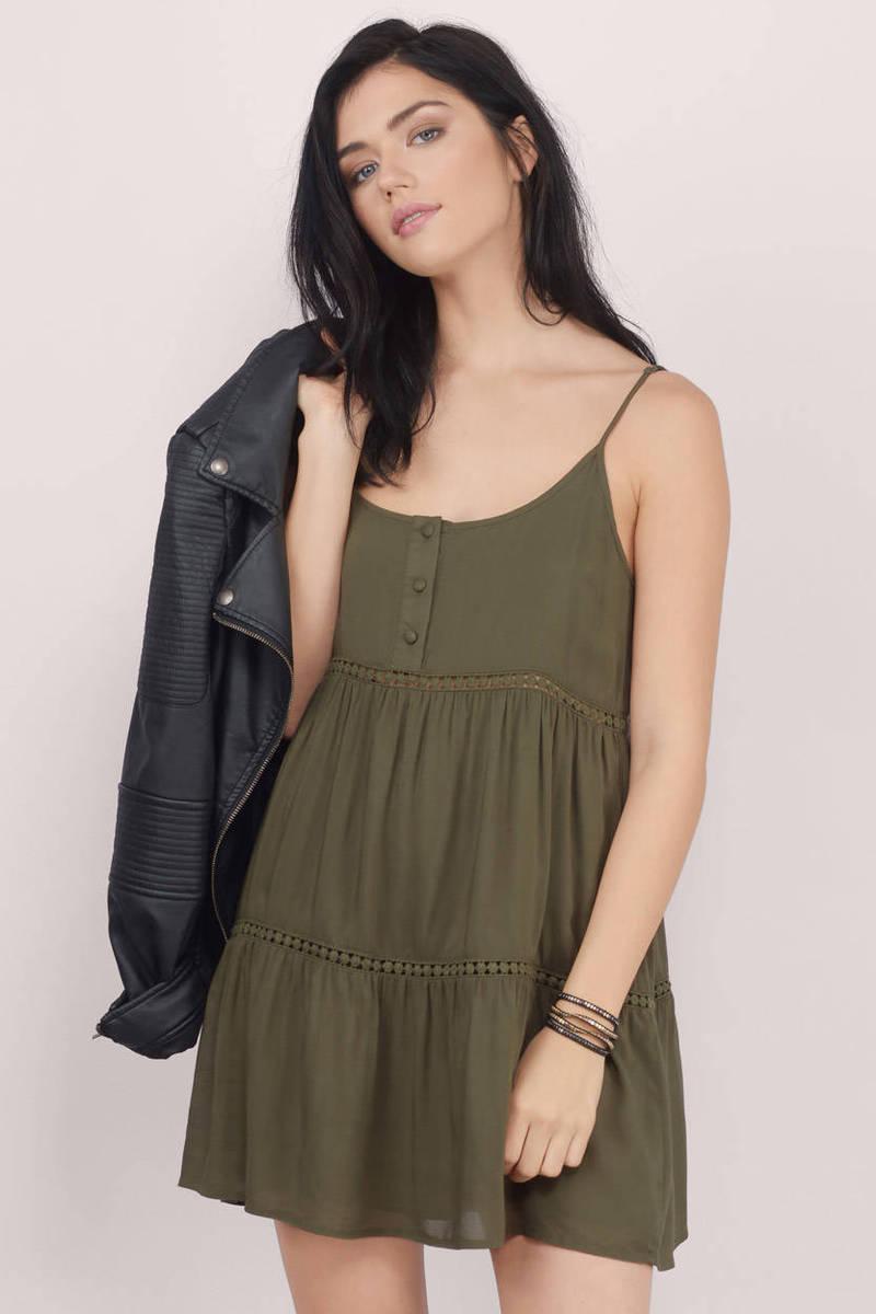 Black Day Dress - Black Dress - Tunic Dress - $46