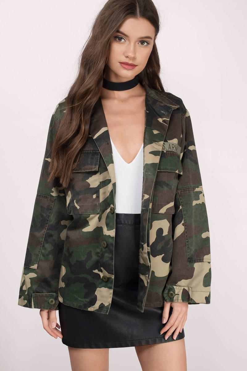 Tara Olive Jacket