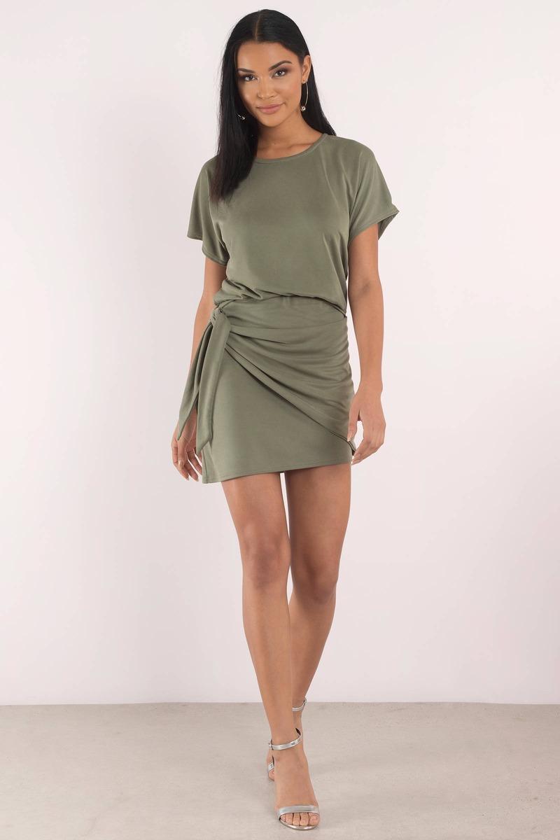 Olive Dress