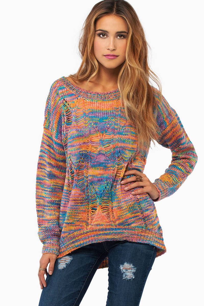 Beautiful Chaos Sweater