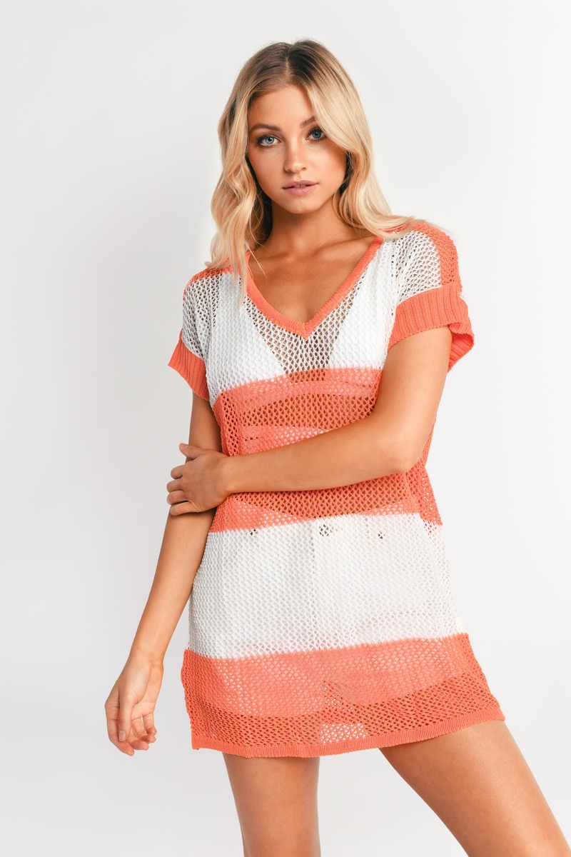 Spaced Out Knit Tunic