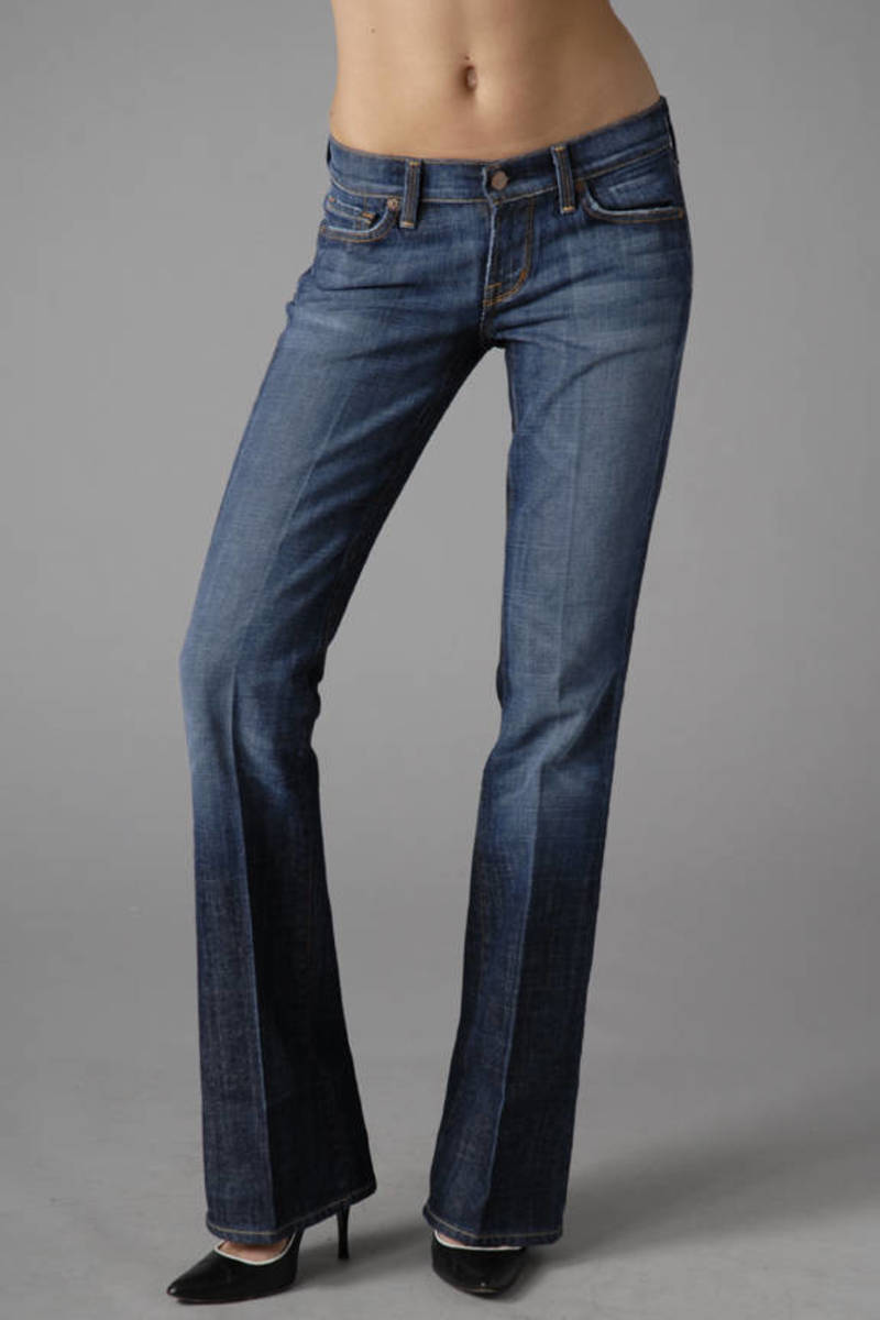 76af6bde5e6 Blue Citizens Of Humanity Jeans - Flattering Jeans - Blue Bootcut ...