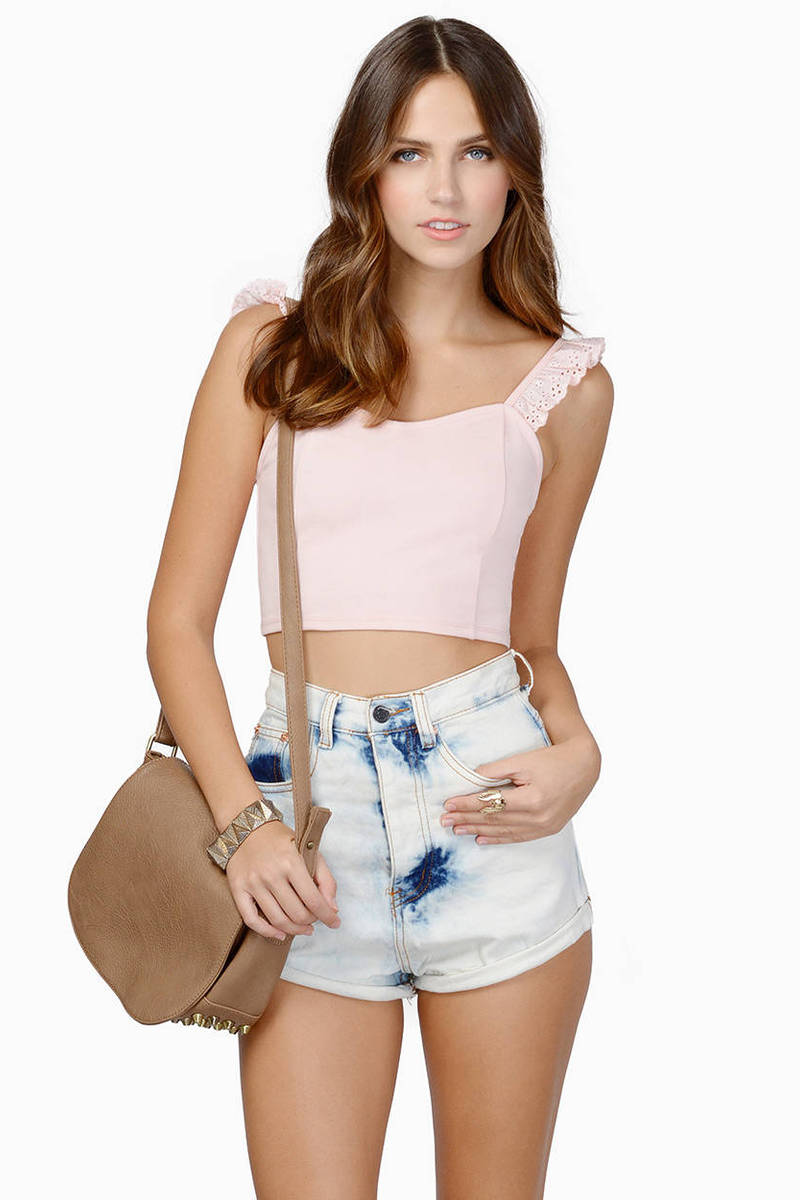 Chasing Ruffles Crop Top