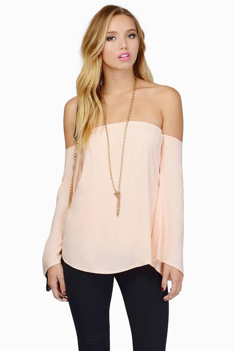 Edie Peach Shirt