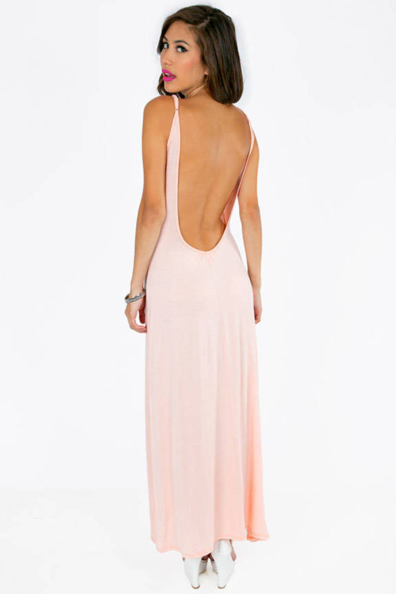 Estelle Low Back Maxi Dress