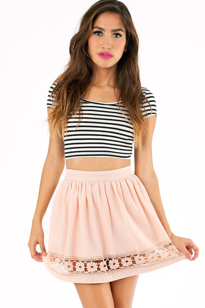 Peeking Petals Skirt