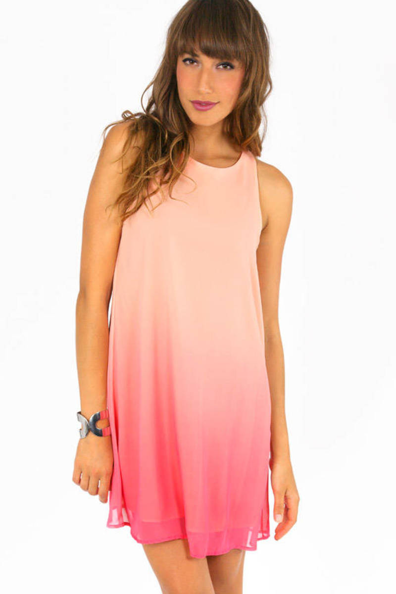 Waves of Ombre Shift Dress