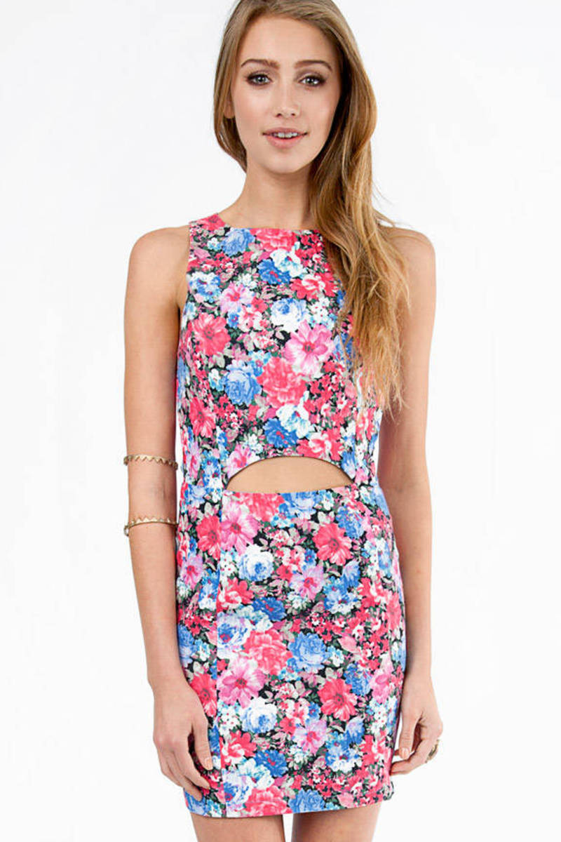 Floraline Cutout Dress