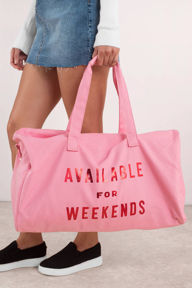 Ban.Do Pink Available For Weekend Duffle Bag -  60  04beb0ca29eaa