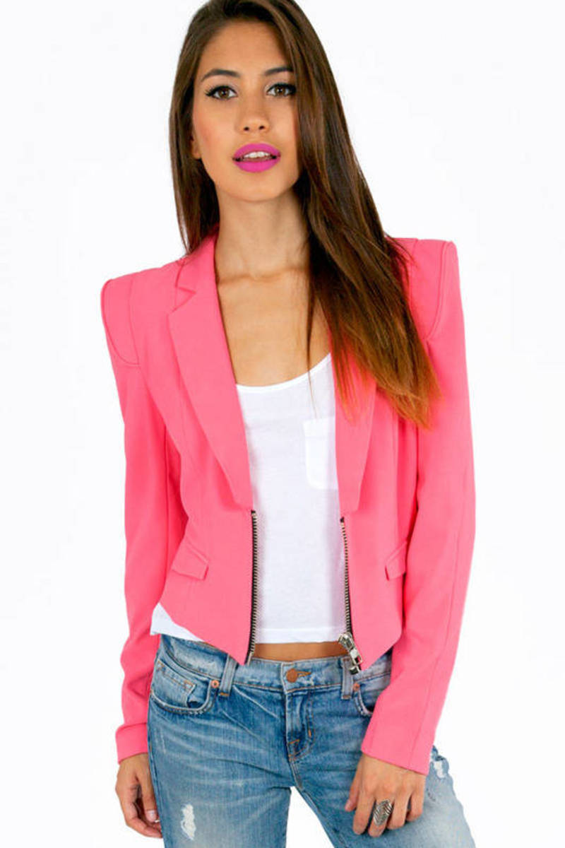 English Rose Bright Side Blazer