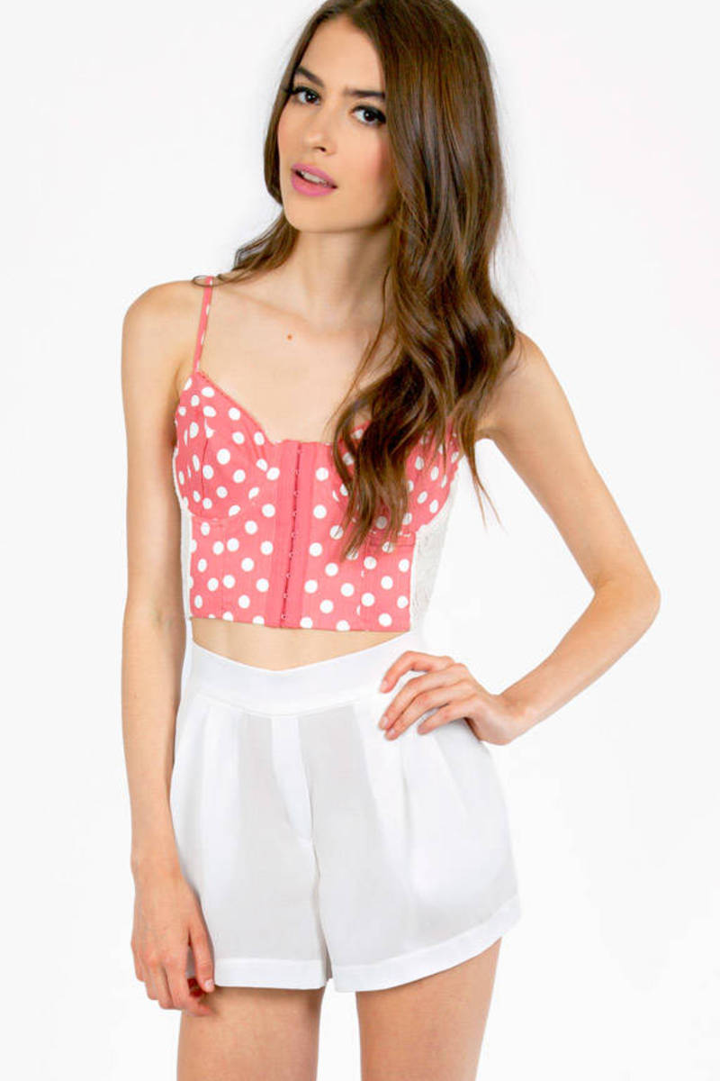 Dot Angeles Bustier Top