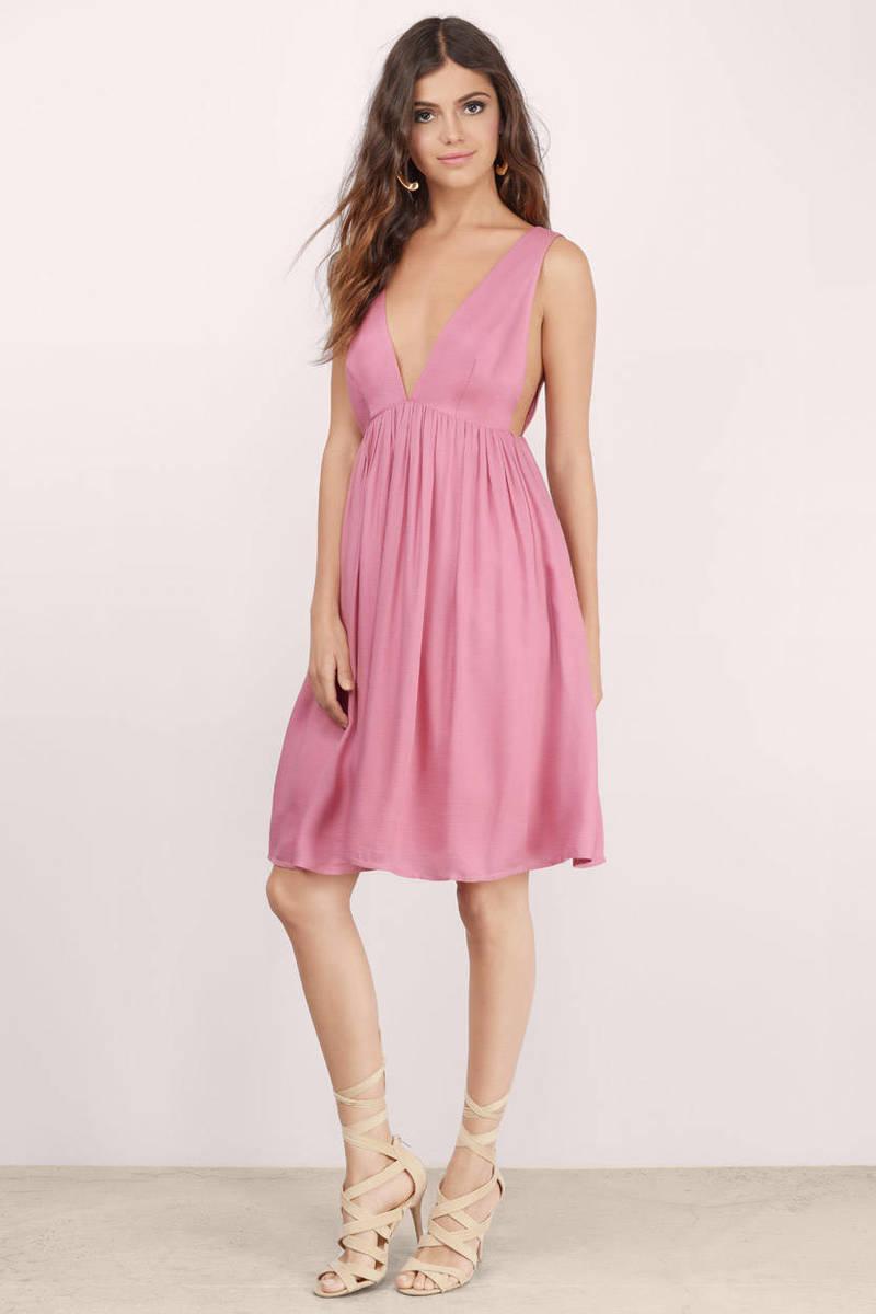Emmilia Pink Midi Dress
