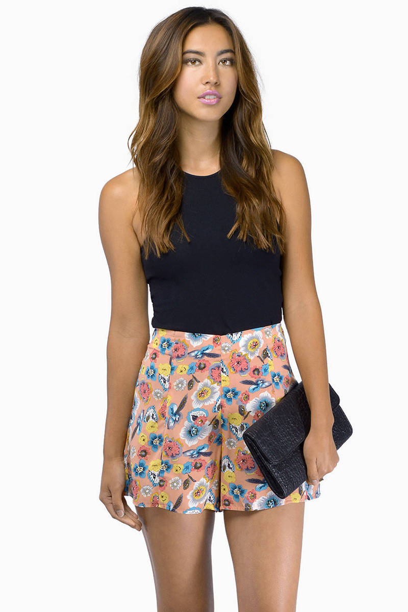 Giselle Watercolor Shorts