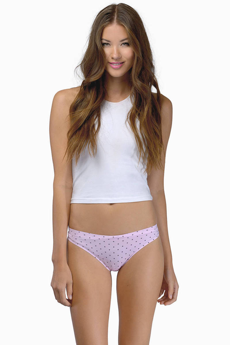 Dots All You Seamless Thong