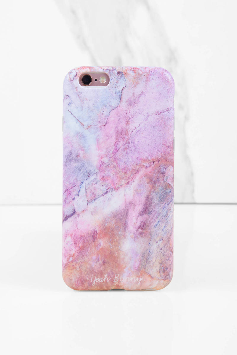 Yeah Bunny Yeah Bunny Iphone Pink Marble Case