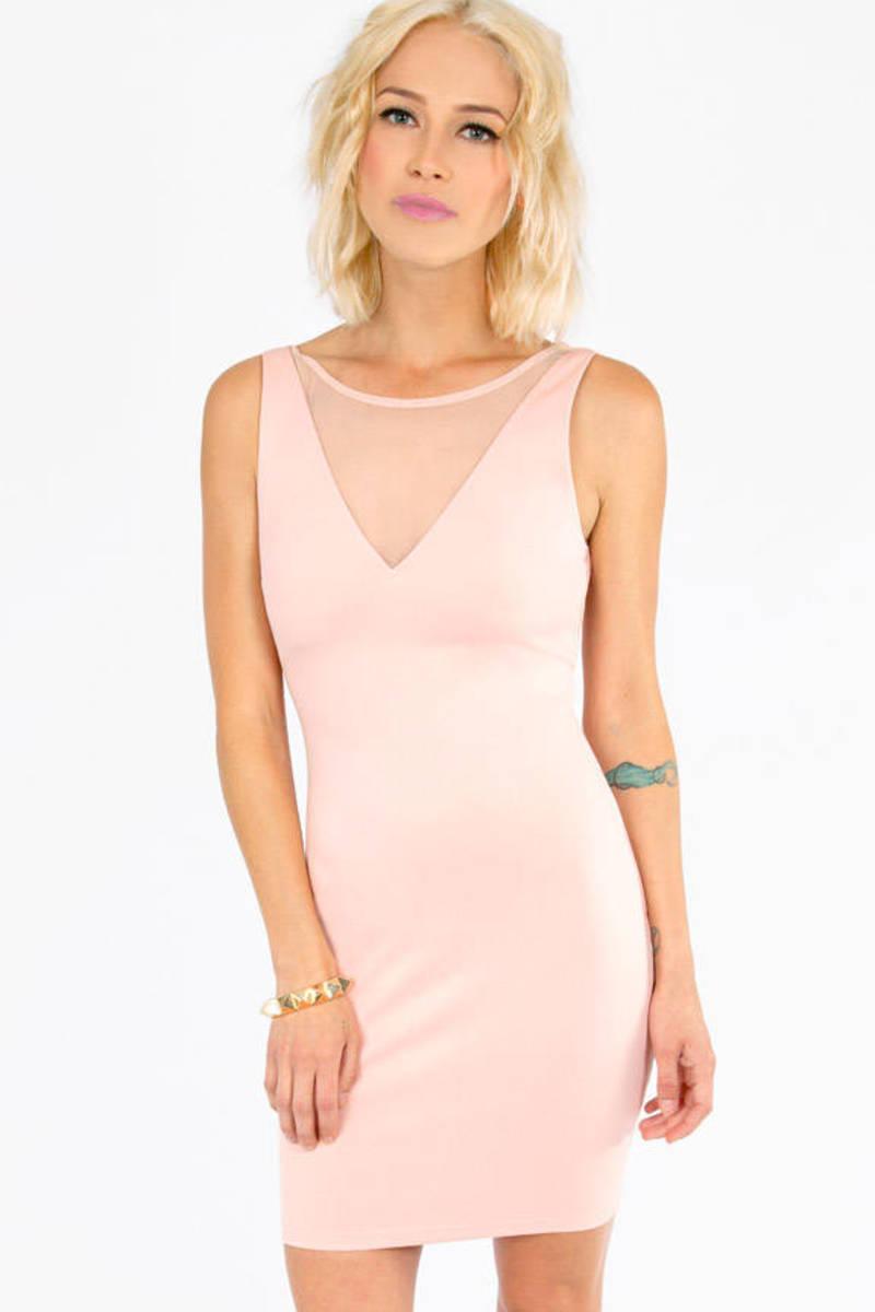 Kara-V Mesh Dress