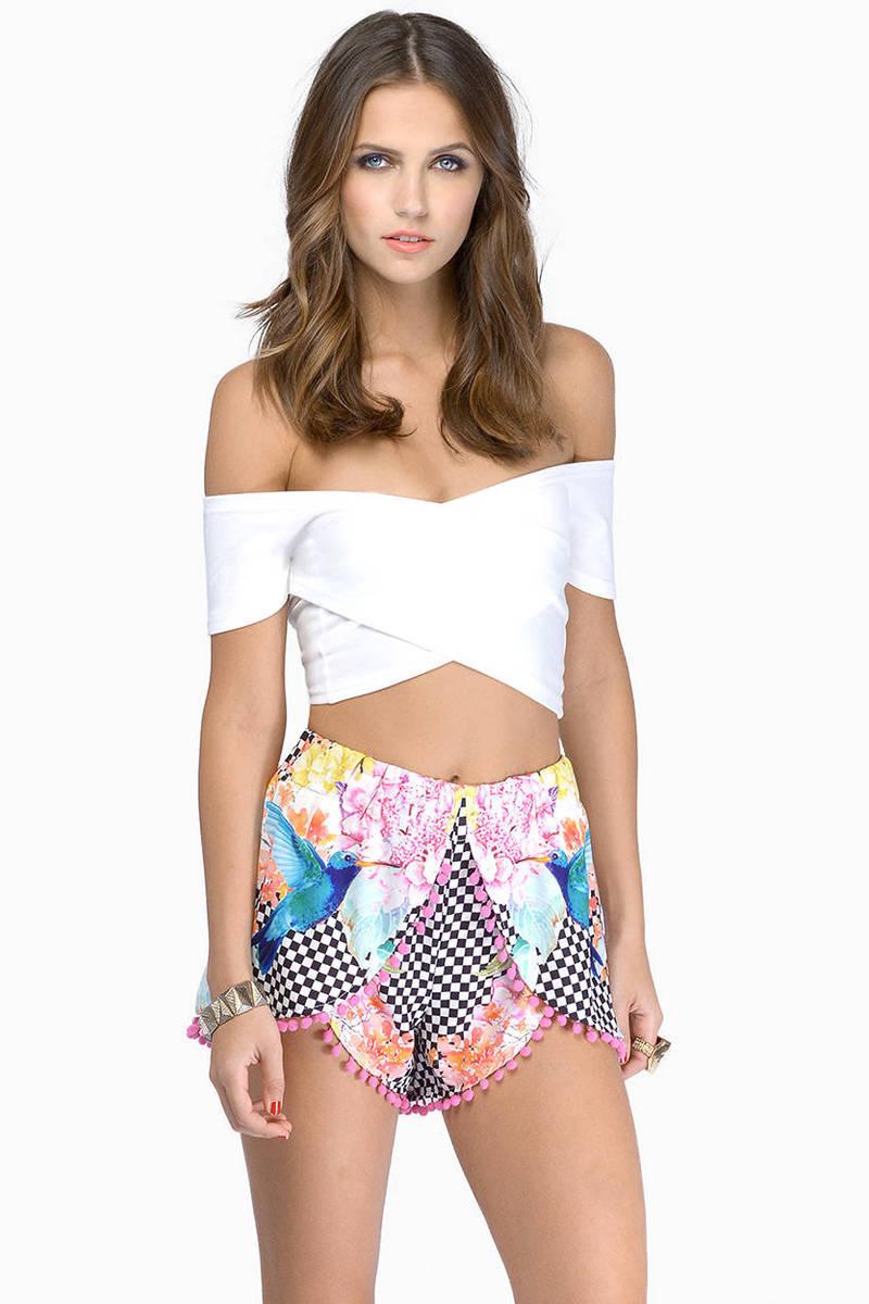 Checkered Past Shorts