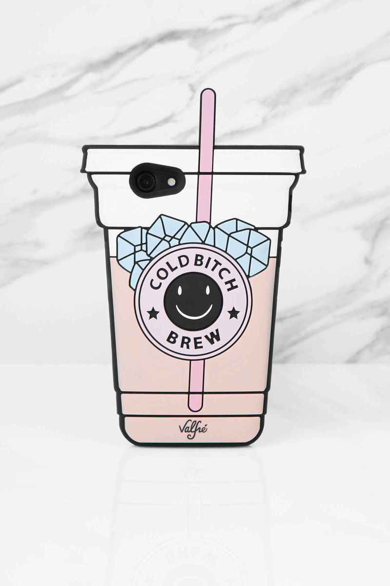 Valfre Cold Bitch Brew Pink Multi Phone Case