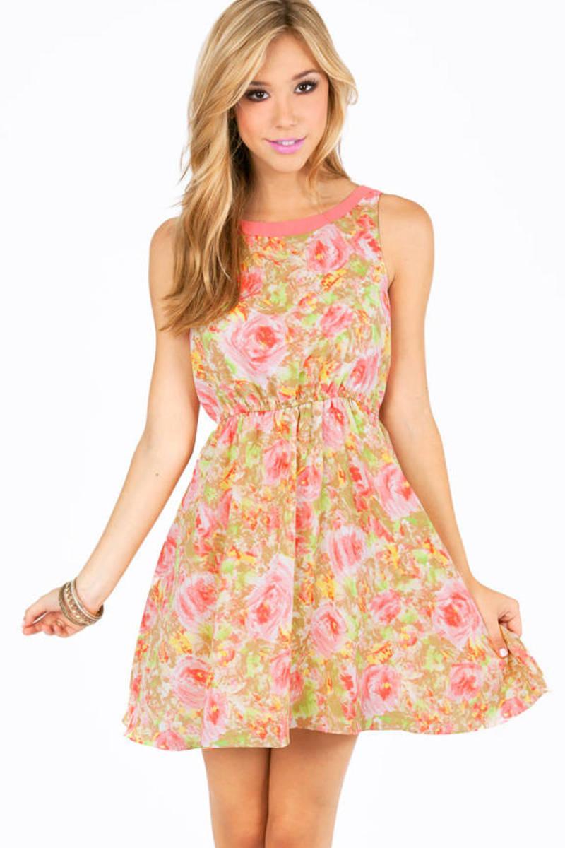 Dollhouse Floral Dress