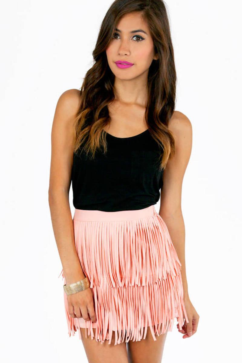 My Best Fringe Skirt