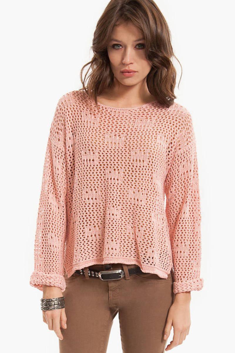 New Depths Knit Sweater