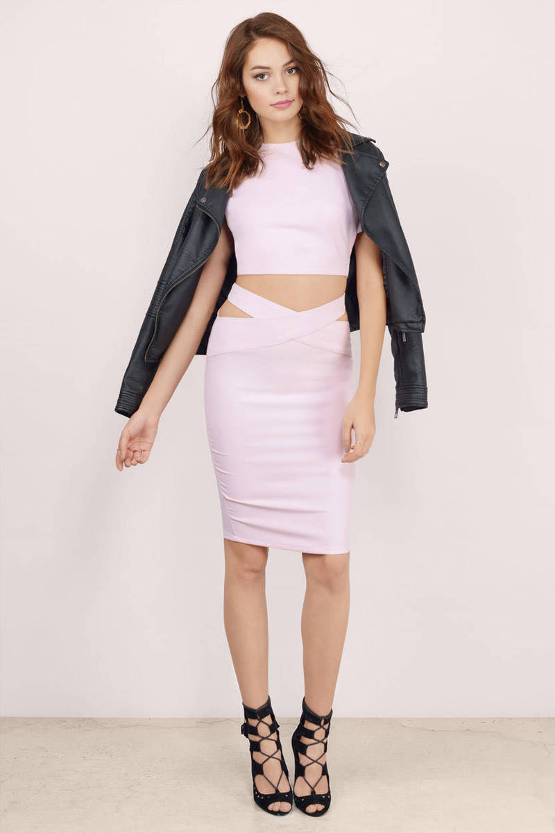 Rise Of Dawn Queen V Midi Skirt