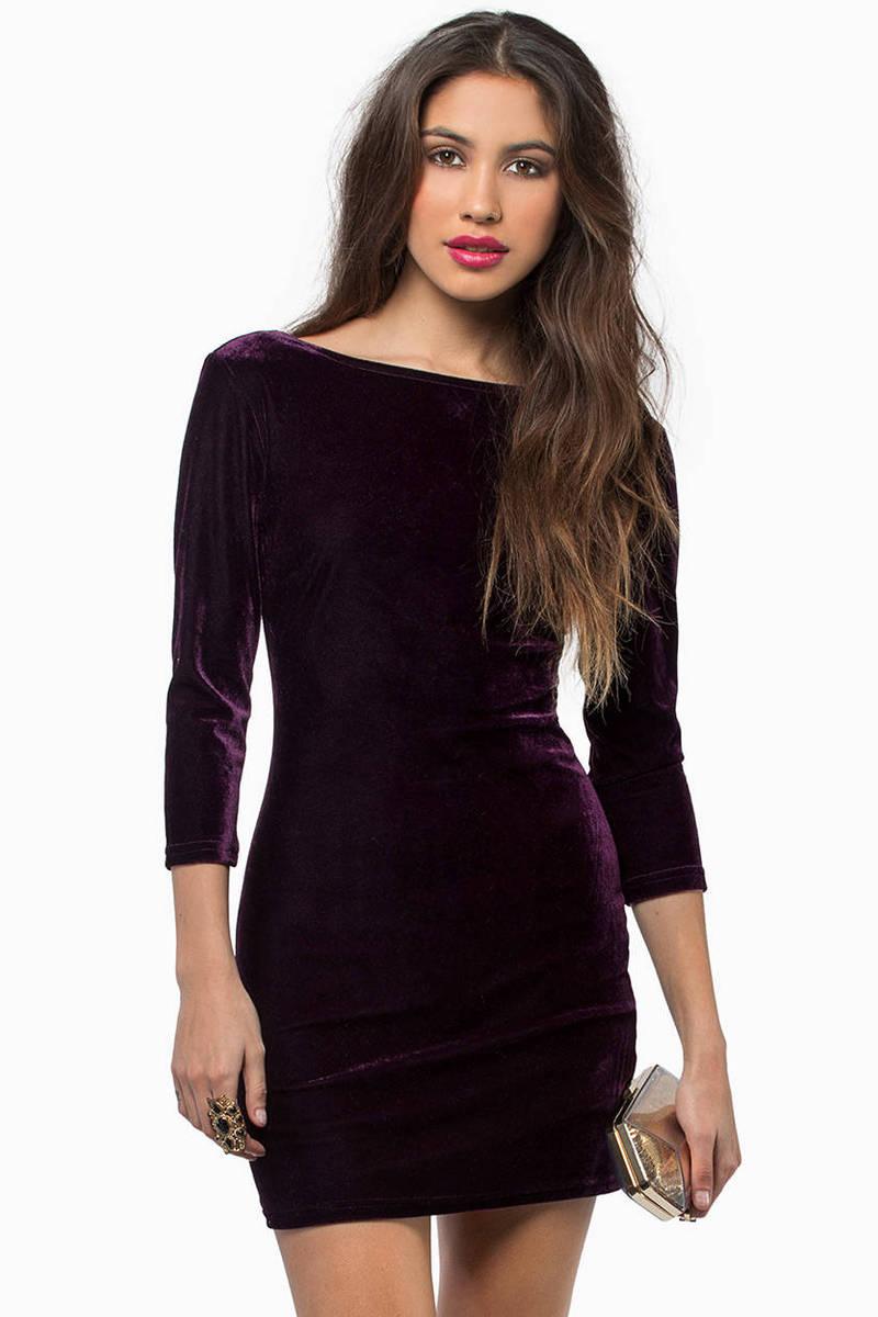 Cruel Intentions Velour Dress