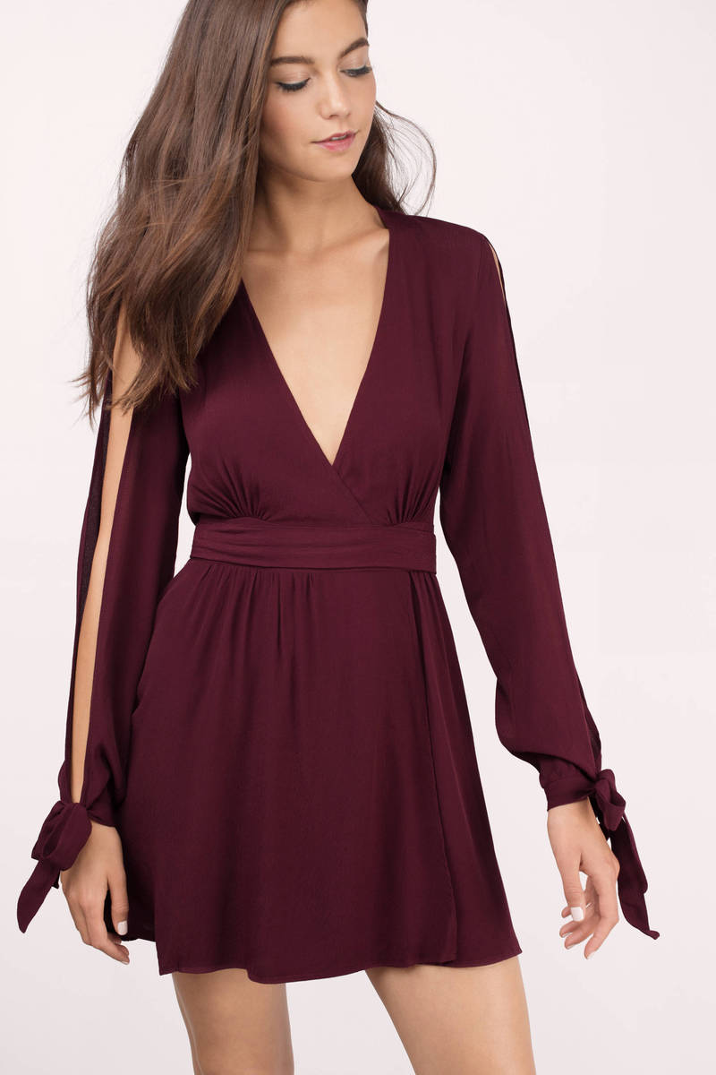 Rise Of Dawn Gifted Wrapped Skater Dress