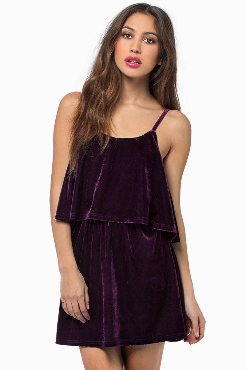 Moonlight Velour Dress