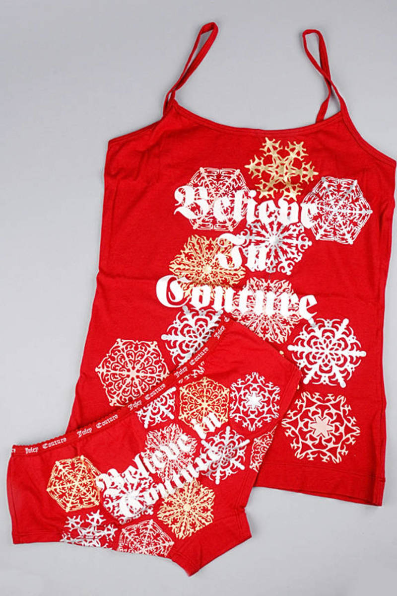 c743598966cc Believe In Couture Cami And Panty Gift Set - $12 | Tobi US