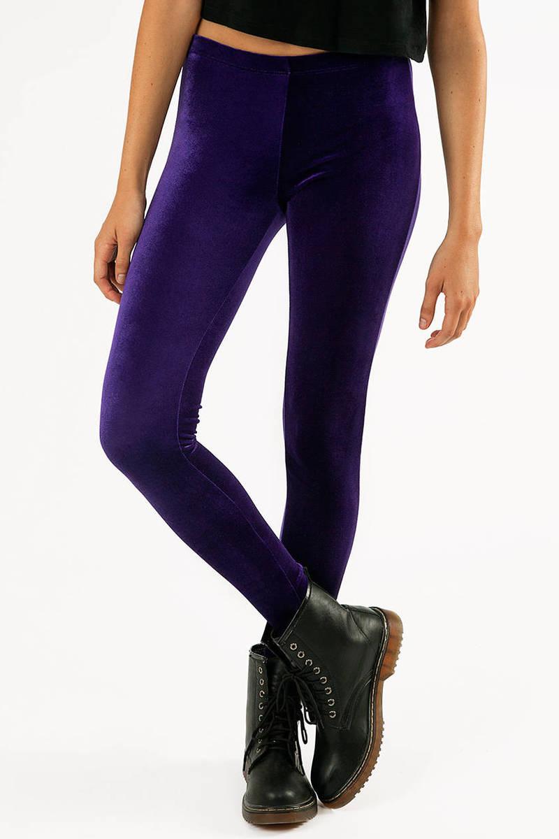 Erlin Velvet Leggings