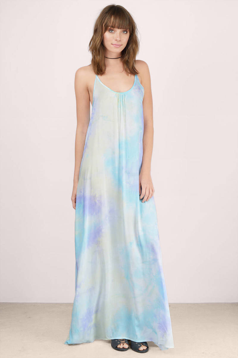 Sun Chaser Purple Multi Maxi Dress
