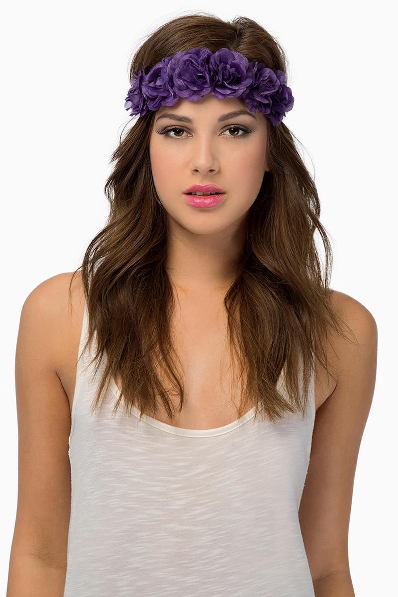 Royal Floral Headband