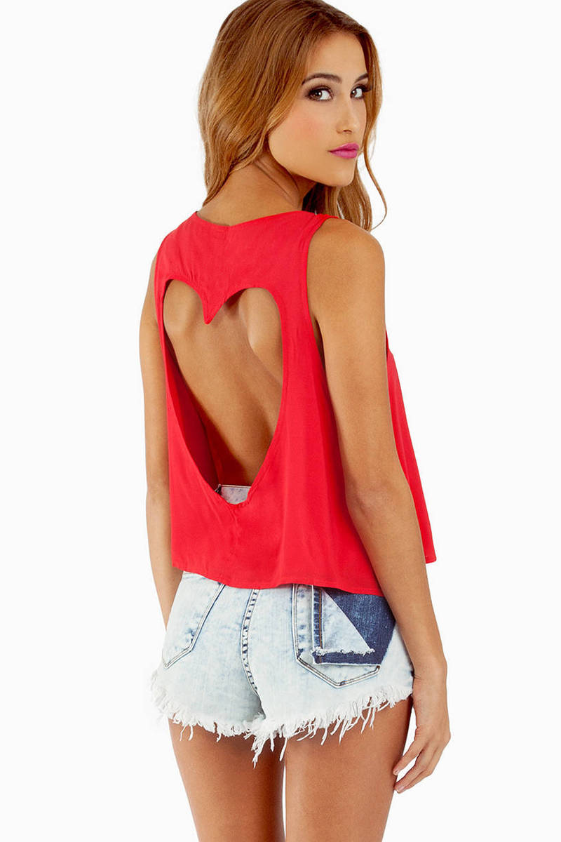 Back That Heart Up Tank
