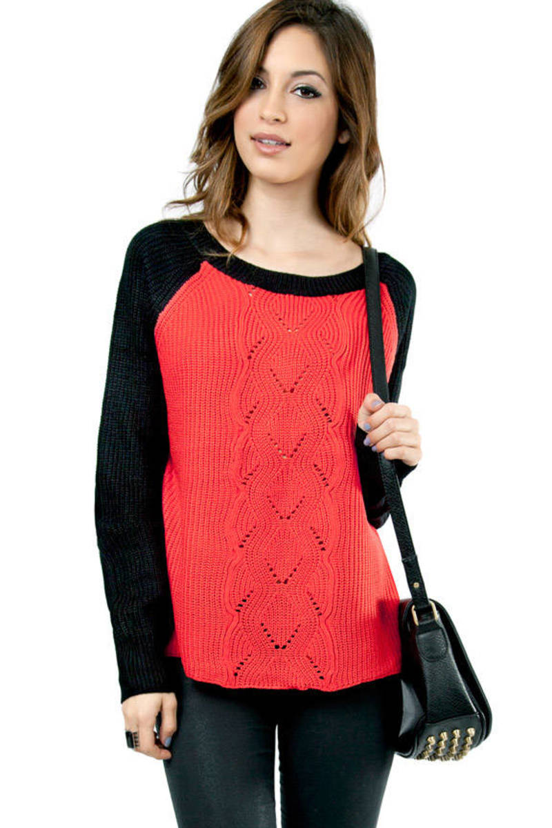 Connie Color Blocking Sweater