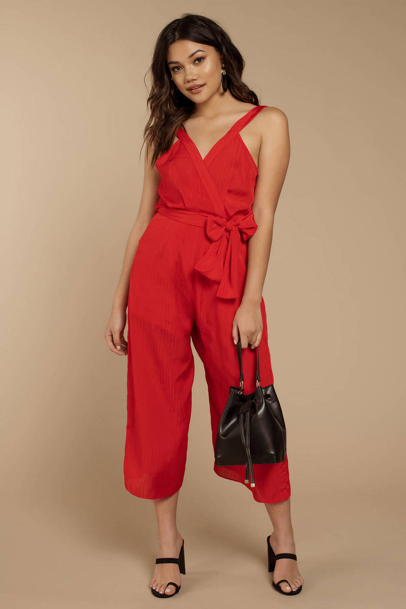 d6e494fd05f The Fifth Label Gilded Red Jumpsuit - AU  188