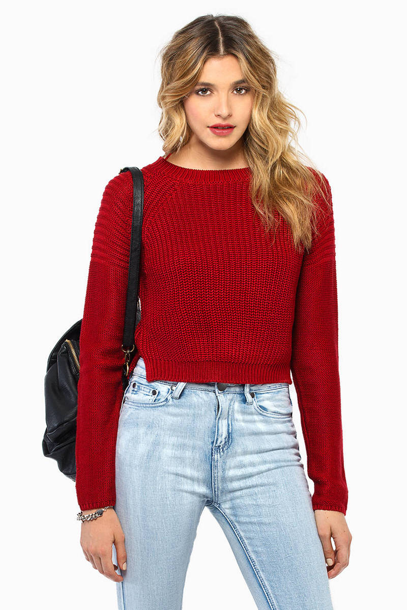 Kandy Crop Sweater