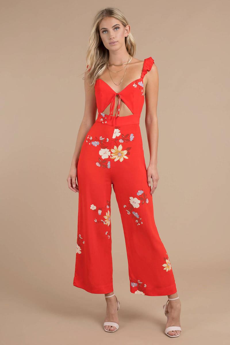 f30f7c4e731f Capulet Annabel Red Multi Floral Jumpsuit -  97