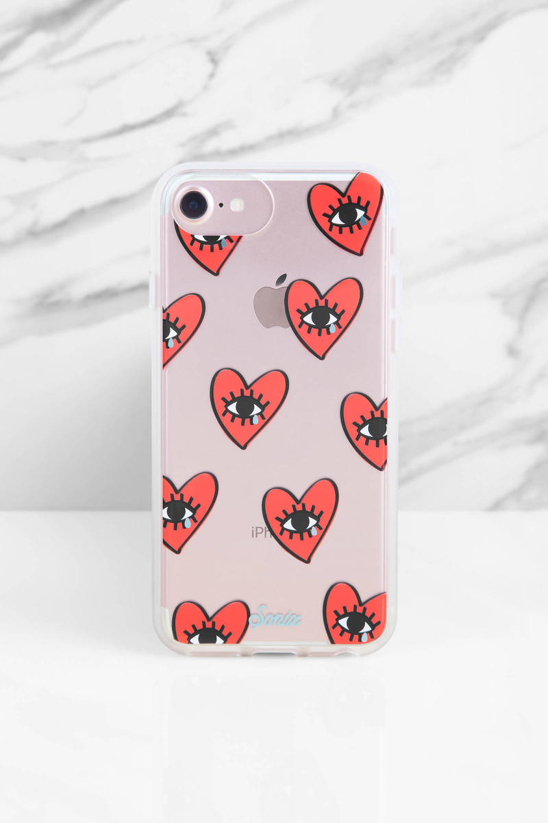 Sonix  Sonix Cry Baby Red Multi Iphone Case