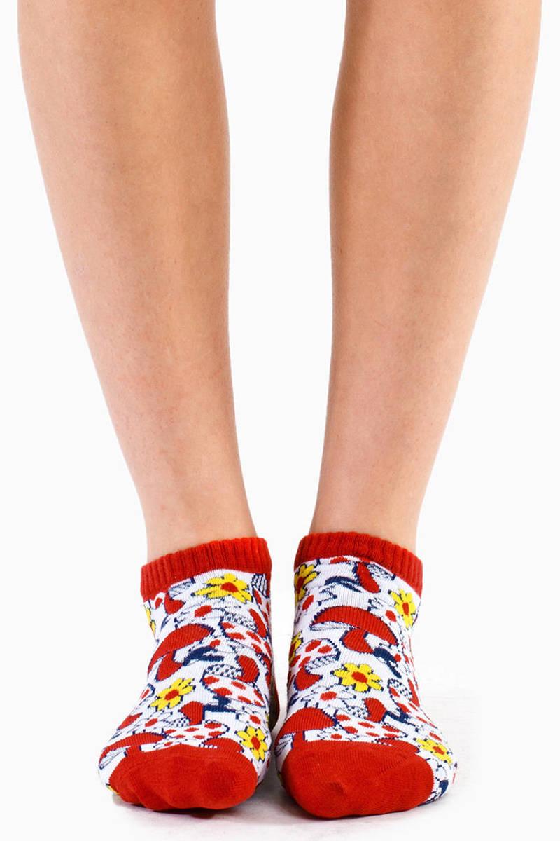 Mushroom Ankle Socks