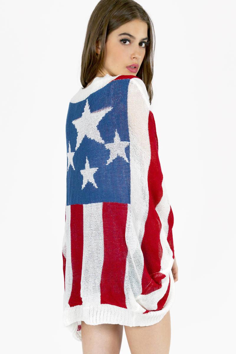 Star Spangled Sweater