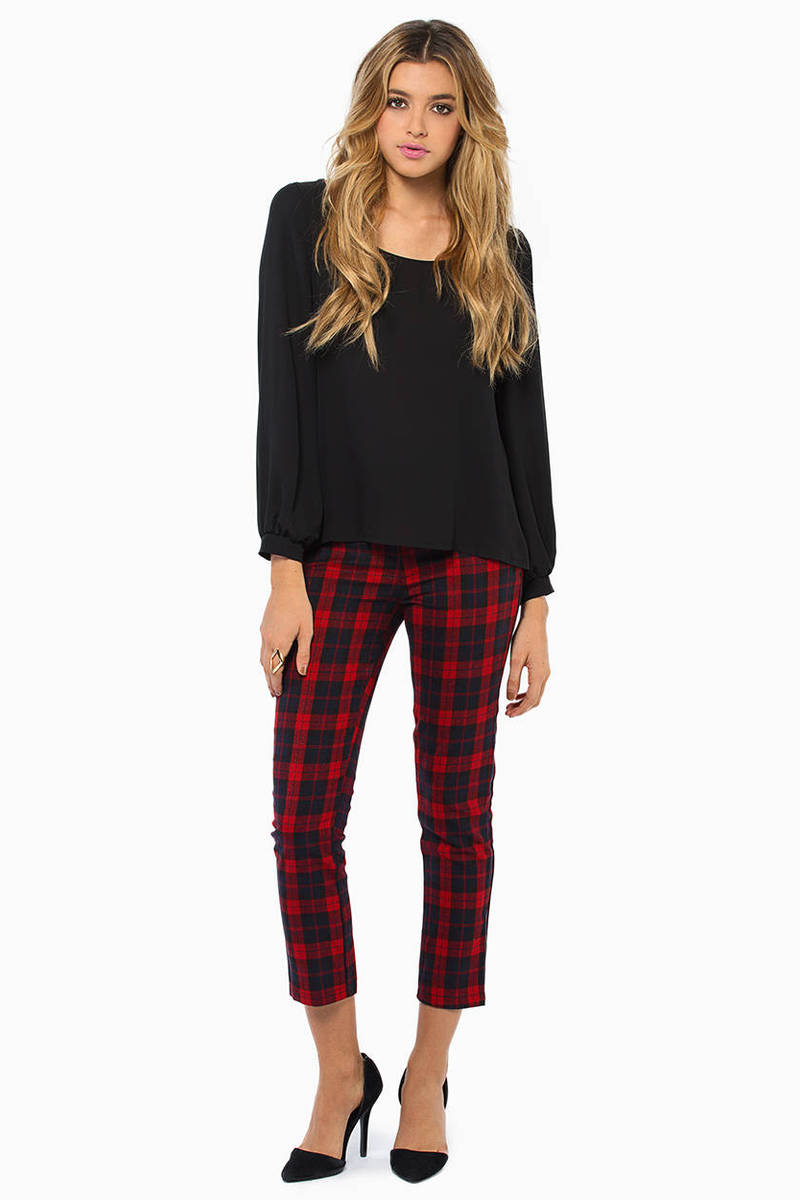 Packing The Plaid Pants