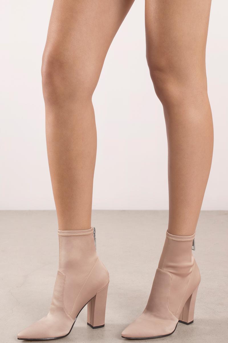 Dolce Vita Elana Rose Satin Ankle