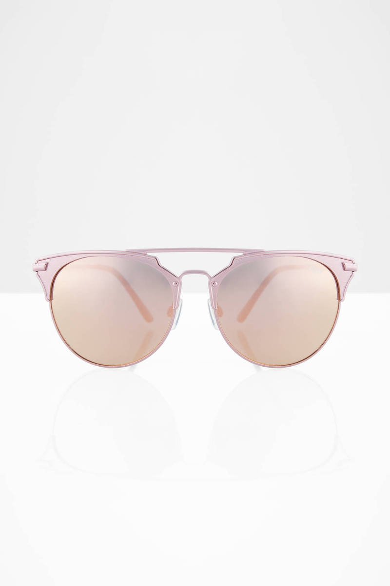 QUAY Gemini Rose Sunglasses