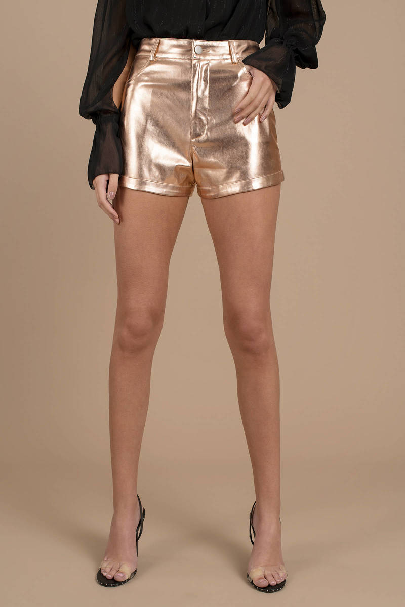 metallic shorts canada