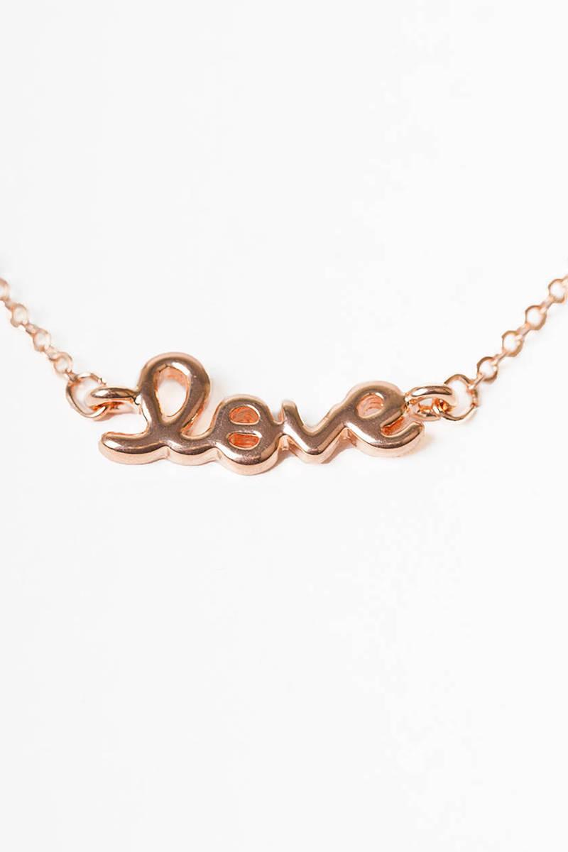 So In Love Necklace
