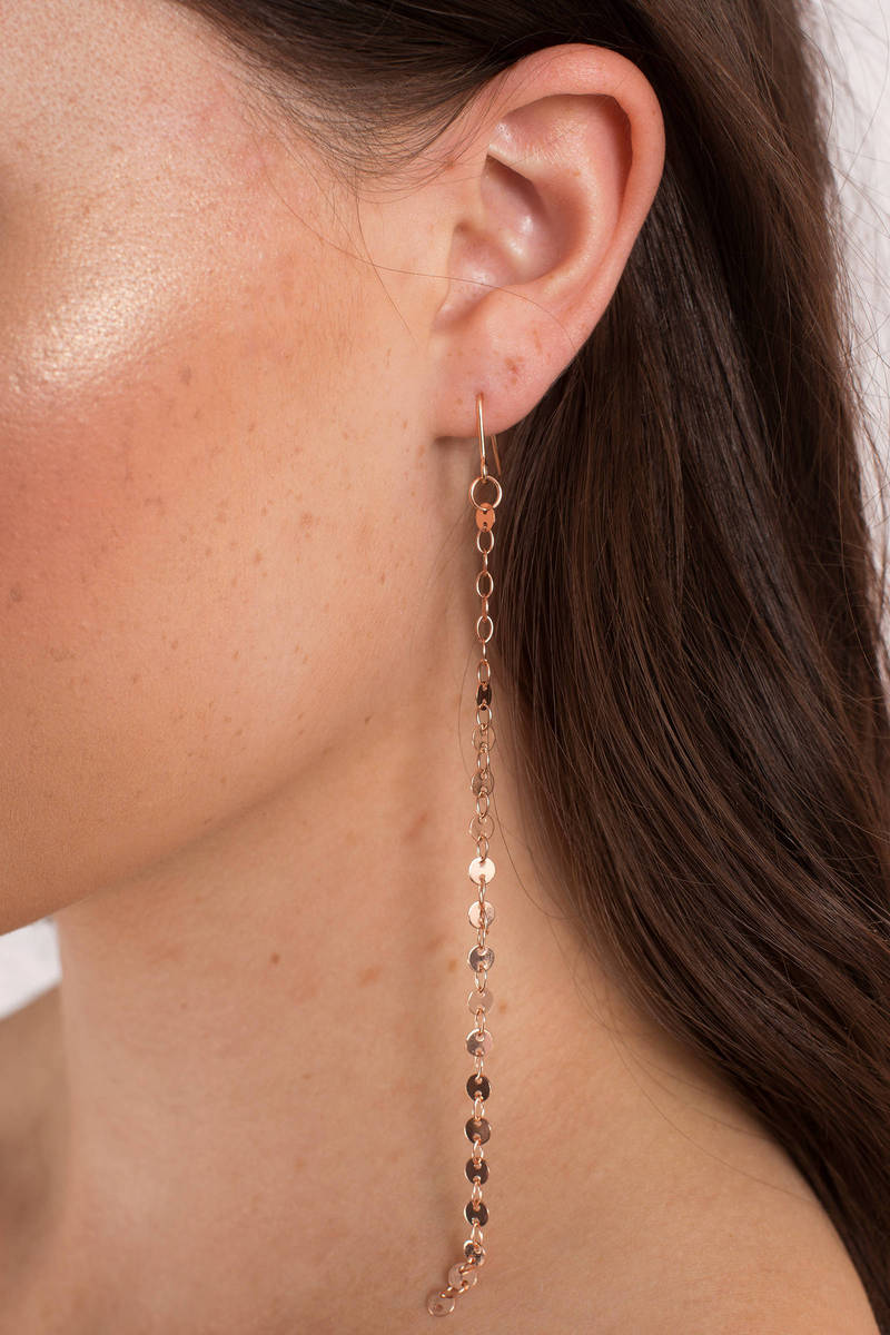 Steal My Sunshine Rose Gold Earrings