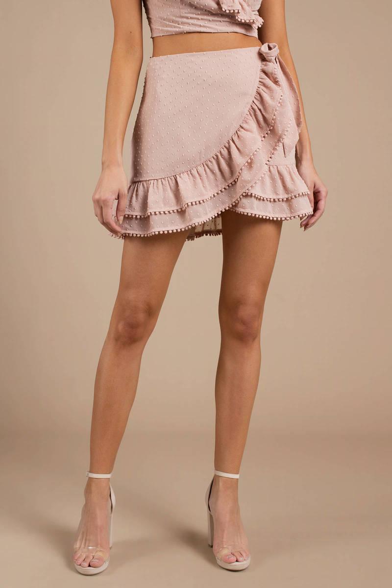 74be270977f Morgan Ruffle Wrap Skirt